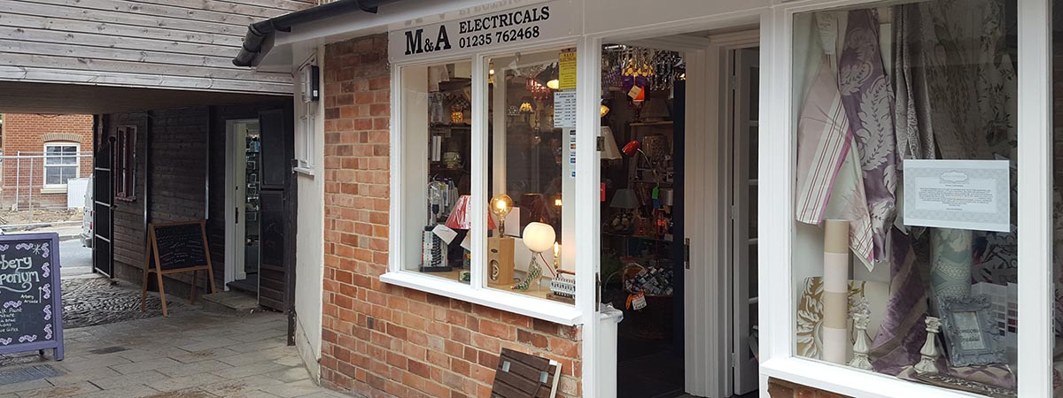 Our new shop-showroom in Arbery Arcade